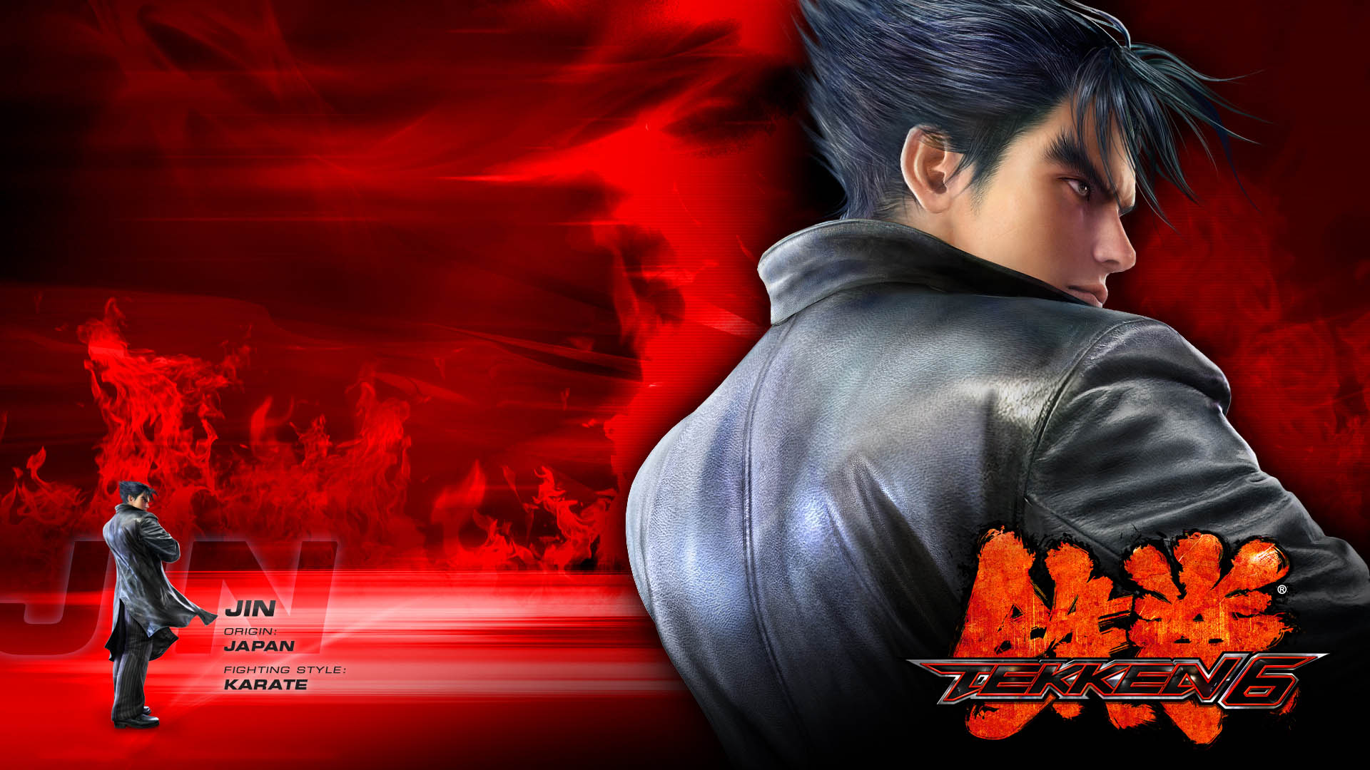 Jin de Tekken wallpaper hd