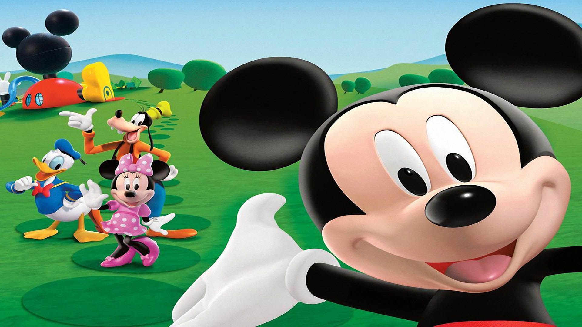 mickey Mouse fonds 'ecran