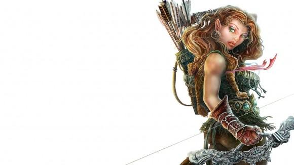 femme guerrière