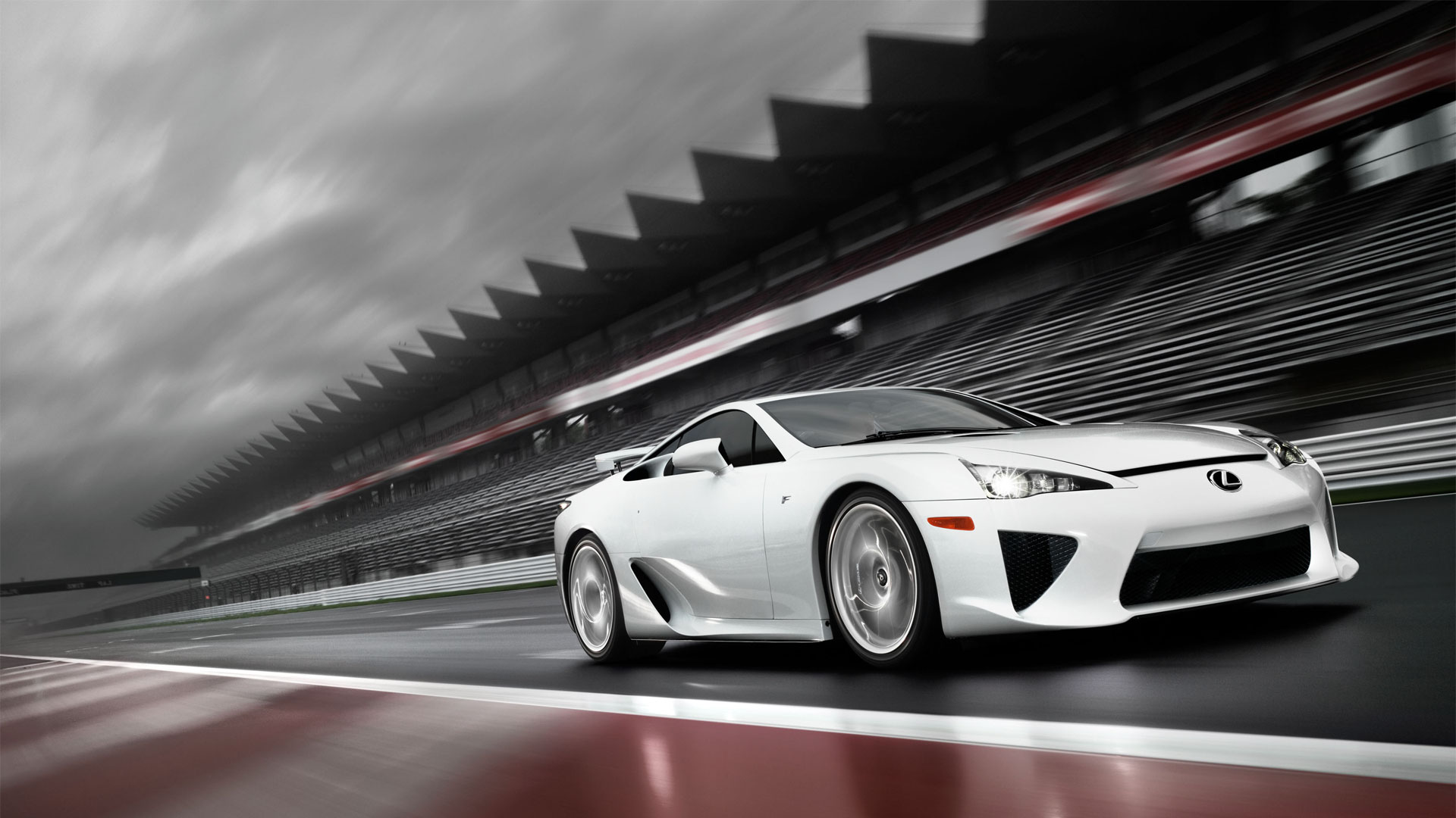 Lexus LFA fond d ecran hd