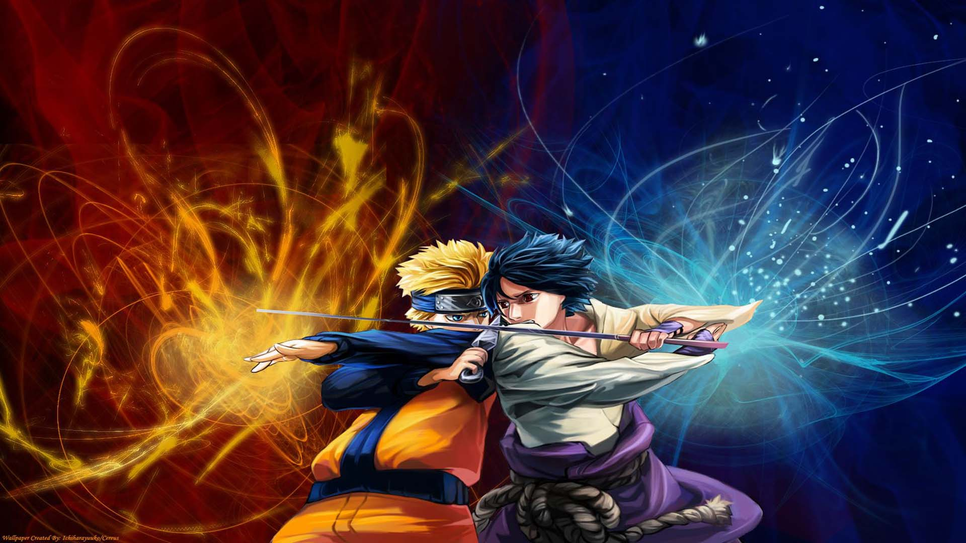 naruto et sasuke fonds d'ecran hd