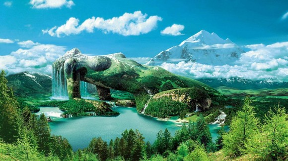 fantaisie en paysage