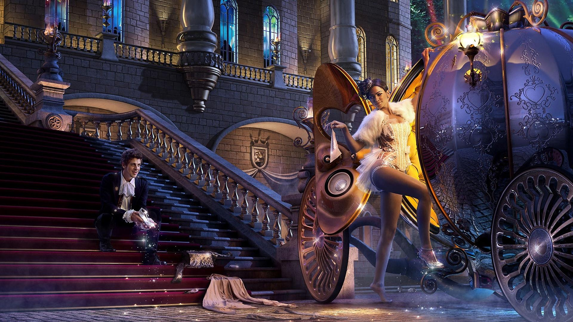 wallpaper hd cendrillon